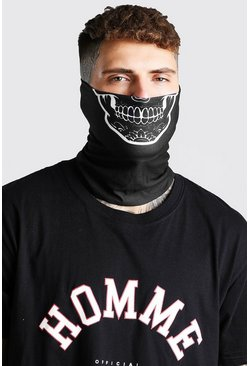 Black MAN Skeleton Snood