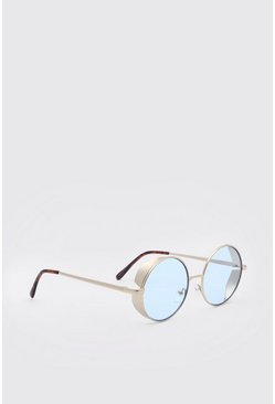 Blue Deep Frame Sunglasses