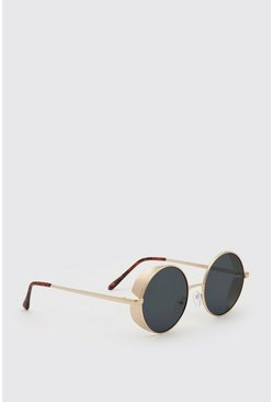 Black Deep Frame Sunglasses