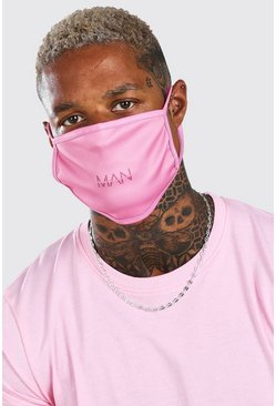 Pink MAN Dash Fashion Mask