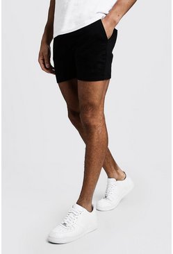 Short Man court en jersey original, Noir