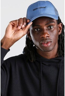 Blue MAN Official Mesh Back Trucker Cap