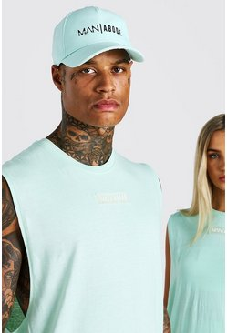 Mint green ABODE His Cap