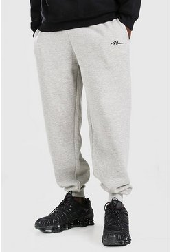 Grey MAN Signature Loose Fit Joggers