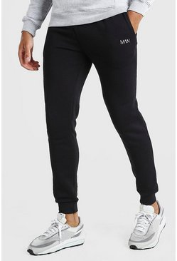Jogging coupe skinny Original MAN, Noir