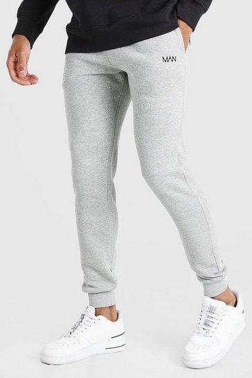 Grey Original MAN Skinny Fit Joggers