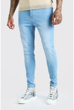 Light blue blå Skinny jeans