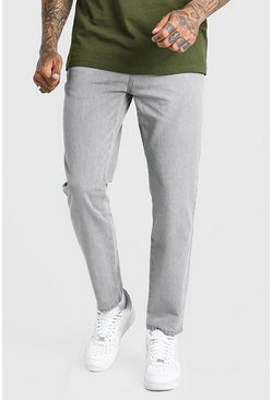 Light grey grey Slim Fit Jeans