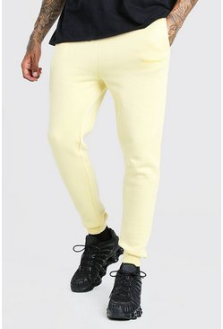 Yellow MAN Official Skinny Fit Marl Jogger