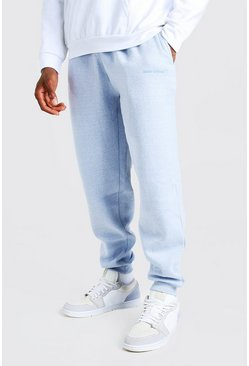 Blue MAN Official Loose Fit Marl Jogger