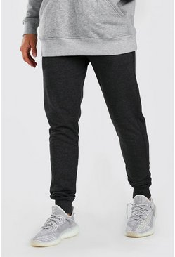 Charcoal grey Basic Skinny Fit Jogger