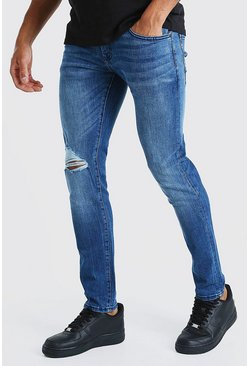 Jeans skinny, Azul oscuro