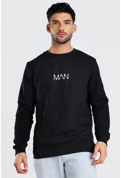 Black Original MAN Sweatshirt