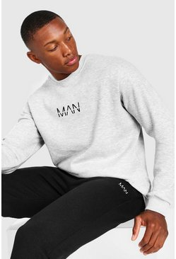 Grey marl Original MAN Sweatshirt