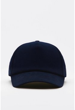 Blue Plain Curve Peak Cap