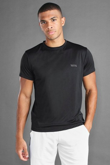 Black MAN Active Poly T-Shirt