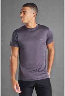 Charcoal MAN Active Poly T-Shirt