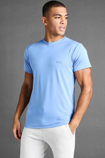 Blue MAN Active Poly T-Shirt