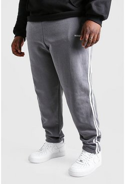 Slate grey Plus Size MAN Official Jogger