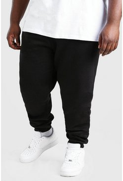 Black Plus Size MAN Signature Jogger