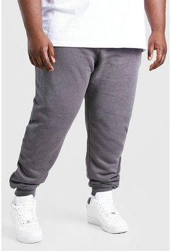 Charcoal grey Plus Size MAN Signature Jogger