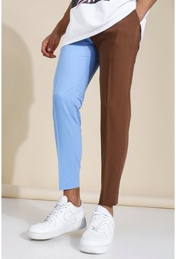 Skinny Spliced Tailored Trouser, Multi mehrfarbig