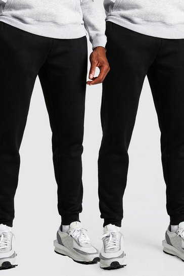 Black 2 Pack Slim Fit Jogger