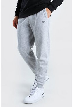Grey marl MAN Dash Slim Jogger