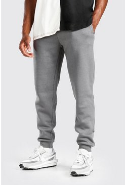 Charcoal grey Basic Slim Fit Joggers