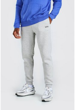 Grijs grey Originele MAN slim fit joggingbroek