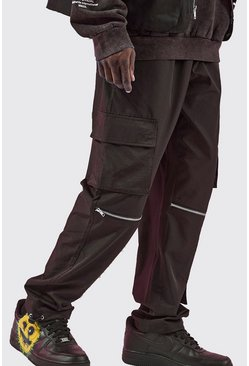 Black Shell Zip Off Cargo Trouser