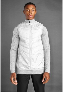 Grey MAN Active Padded Gilet