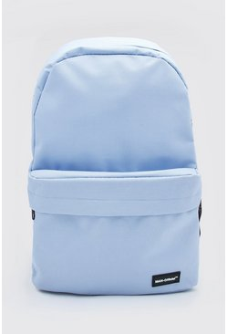 Pale blue blue MAN Official Basic Backpack