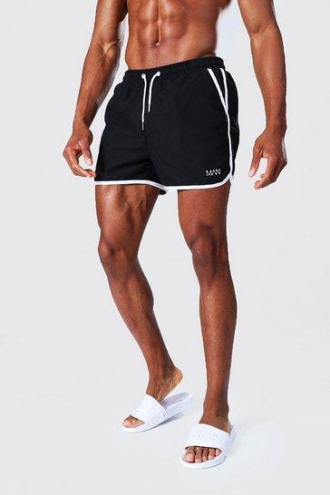 Black Recycled Original Man Runner Swim Short