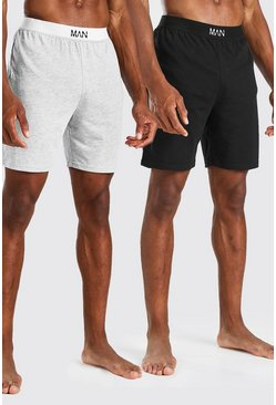 Meerdere multi 2-pack MAN Dash Loungewear Shorts