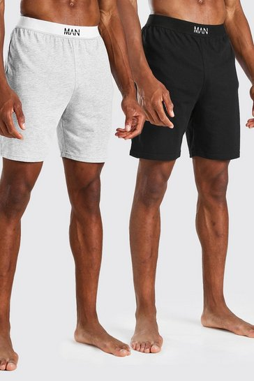 Multi 2 Pack MAN Dash Loungewear Shorts