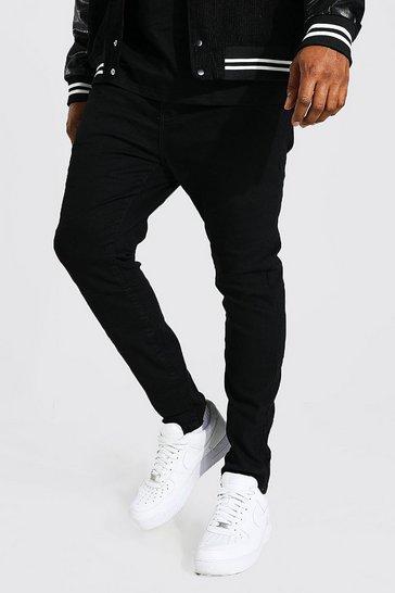 Black Plus Size Super Skinny Jean