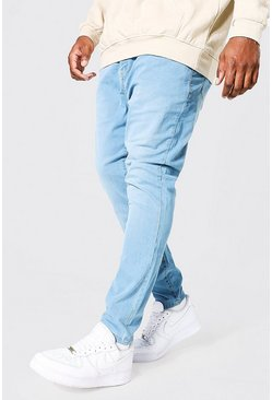Light blue blue Plus Size Super Skinny Jean