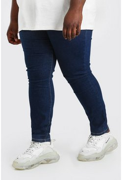 Dark blue blue Plus Size Super Skinny Jean