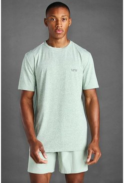 Khaki MAN Active Marl T-Shirt