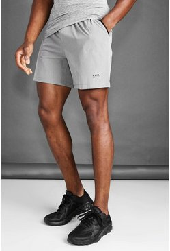 Grey marl grey MAN Active Marl Shorts