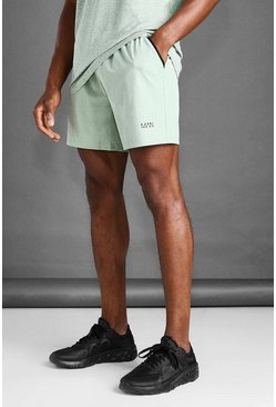 Khaki MAN Active Marl Shorts