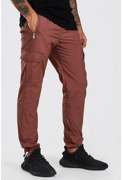 Mauve purple Shell Pocket Jogger