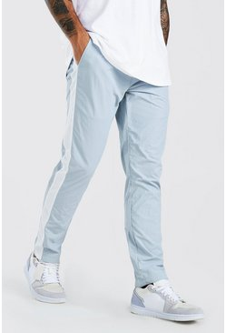 Light grey Shell Trouser With Side Panel