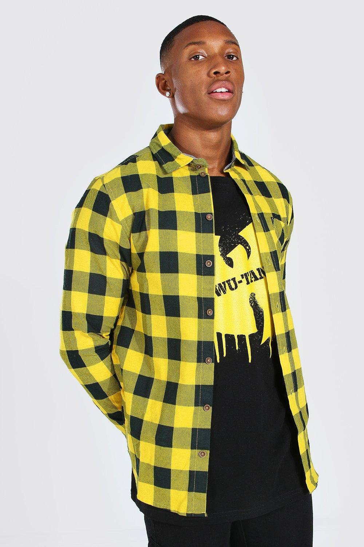 Men's Checks Long Sleeve Regular Fit Check Shirt
