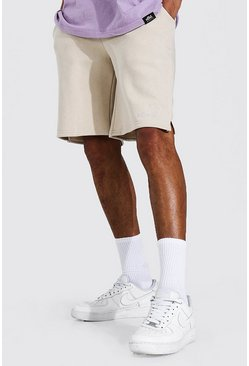 Stone beige Tall Oversized Official Jersey Short