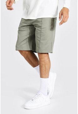 Tall Skate Chino Shorts, Sage grün