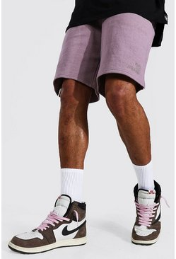 Mauve purple Tall Oversized Official Jersey Short