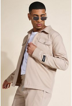 Veste Harrington - MAN, Light brown beige