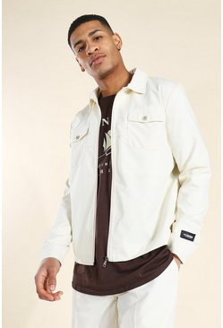 Stone beige Man Badge Smart Harrington